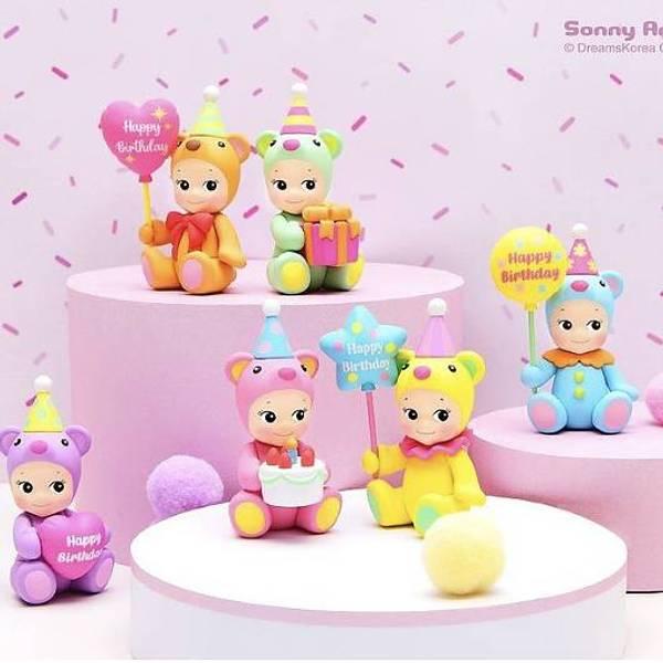 Bilde av SONNY ANGEL -  Birthday Bear 2021