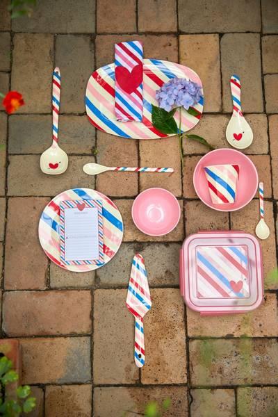 Bilde av BOLLE - Candy Stripes Print - Rice