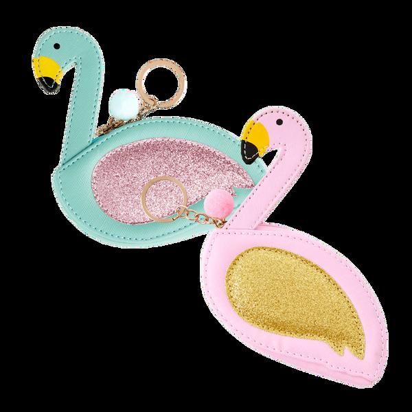 Bilde av PENGEPUNG - Flamingo - Rice