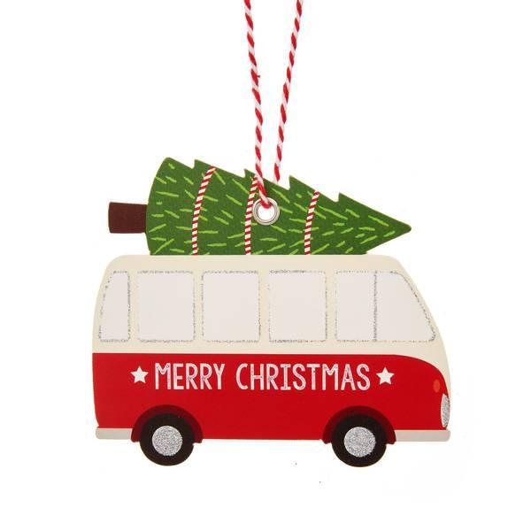 Bilde av TAGS - Christmas Camper Van