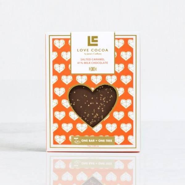 Bilde av SJOKOLADE - Salted Caramel - Love Cocoa