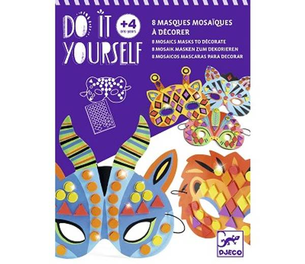 Bilde av HOBBYSETT - Lag Dyremasker med Mosaikk - Djeco