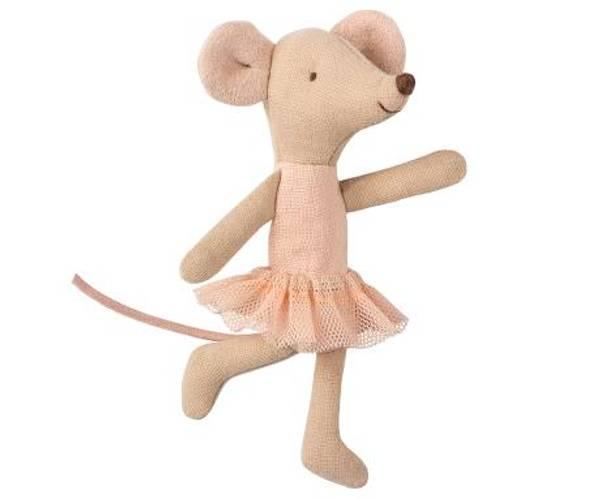Bilde av MUS - Lillesøster - Dansemus - Ballerina - Maileg