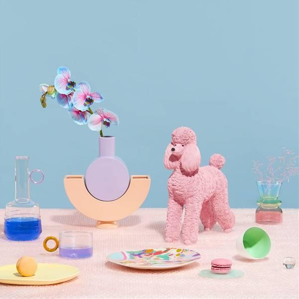 Bilde av SPAREBØSSE - Rosa Puddel - &Klevering