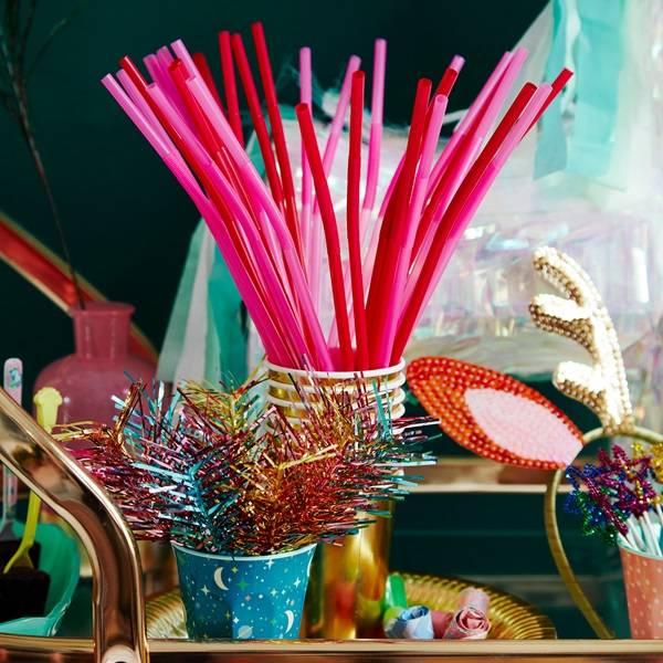 Bilde av PARTY STICKS - Foil Feather - Rice