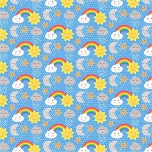 Bilde av GAVEPAPIR - cloud & rainbow