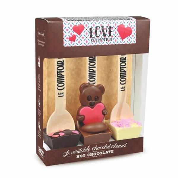 Bilde av KAKAOPINNER - Hot Chocolate Spoon - Love Collection - Le