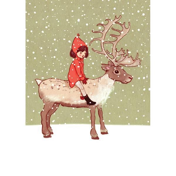 Bilde av KORT - My Reindeer - Belle & Bo