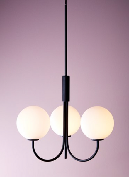 Bilde av LYSEKRONE - Ballon - Svart - Herstal