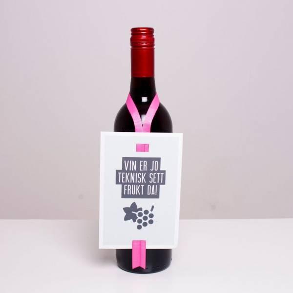 Bilde av VINKORT - Vin er jo teknisk sett frukt da