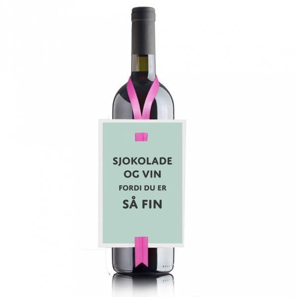 Bilde av VINKORT - Sjokolade Og Vin