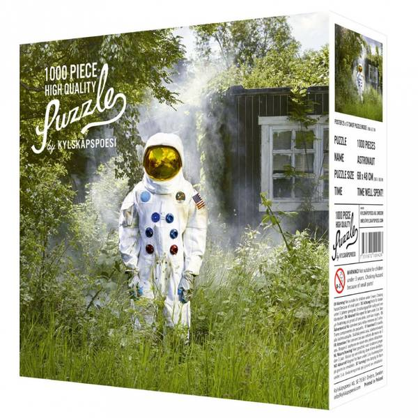 Bilde av PUSLESPILL - Astronaut