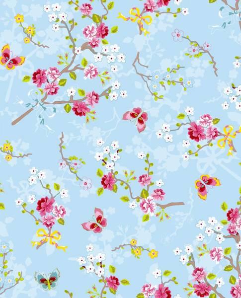 Bilde av TAPET - Chinese Rose - Blå - Pip Studio - Eijffinger