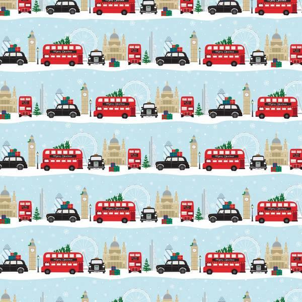 Bilde av GAVEPAPIR - London Scene