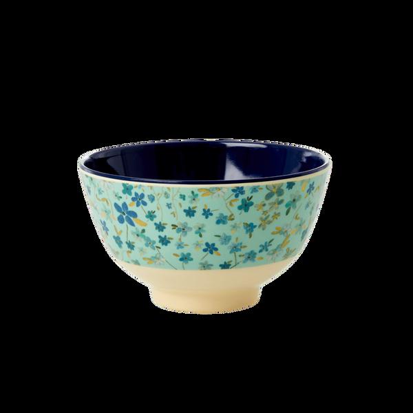 Bilde av LITEN BOLLE - Blue Floral Print - Rice