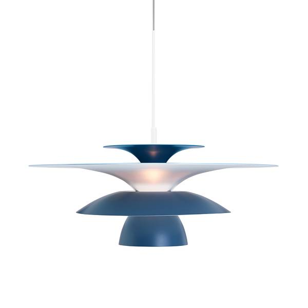 Bilde av TAKLAMPE - Picasso - Blå - Ø50 cm. - Belid