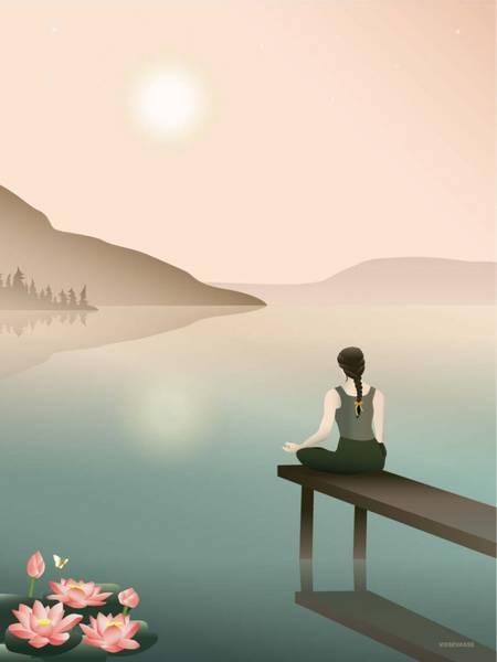 Bilde av PLAKAT - Lotus - Vissevasse