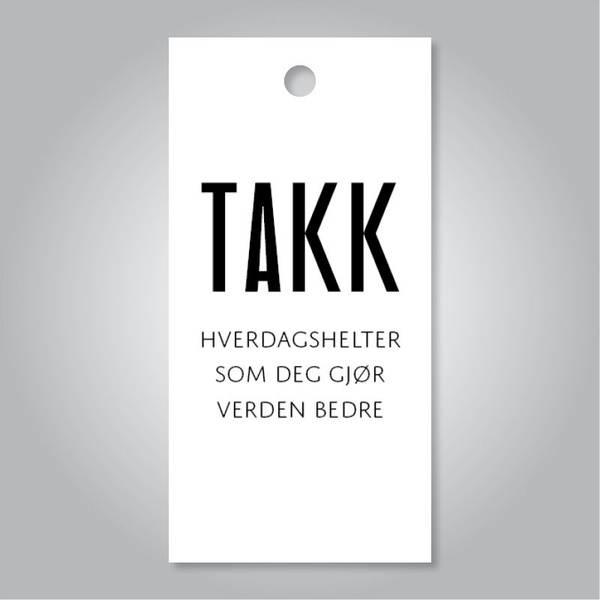 Bilde av TAGS - Takk Hverdagshelter Som Deg