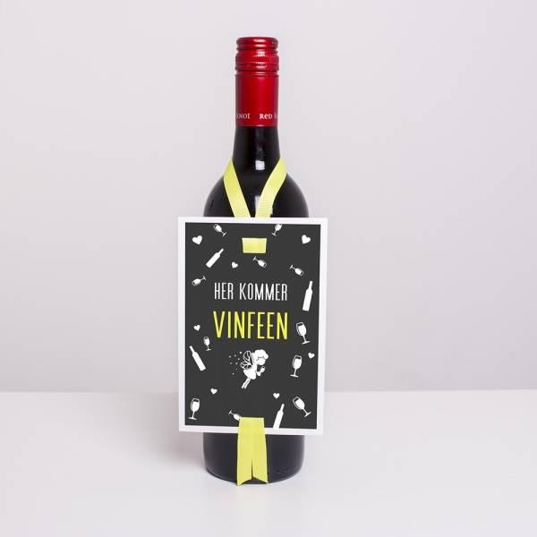 Bilde av VINKORT - Her Kommer Vinfeen