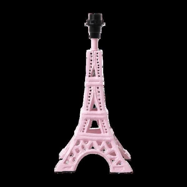 Bilde av LITEN LAMPEFOT - Eiffeltårn - Rosa - Rice