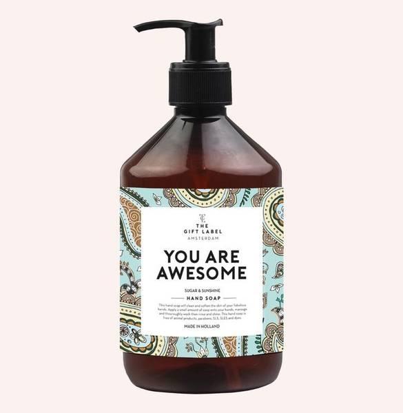 Bilde av HÅNDSÅPE - You Are Awesome - The Gift Label