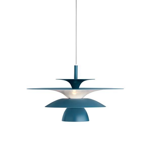 Bilde av TAKLAMPE - Picasso - Blå - Ø38 cm. - Belid