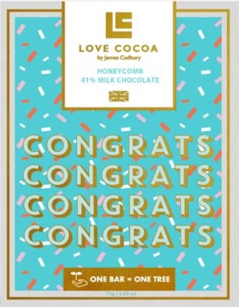 Bilde av SJOKOLADE - Congrats - Honeycomb Milk - Love Cocoa