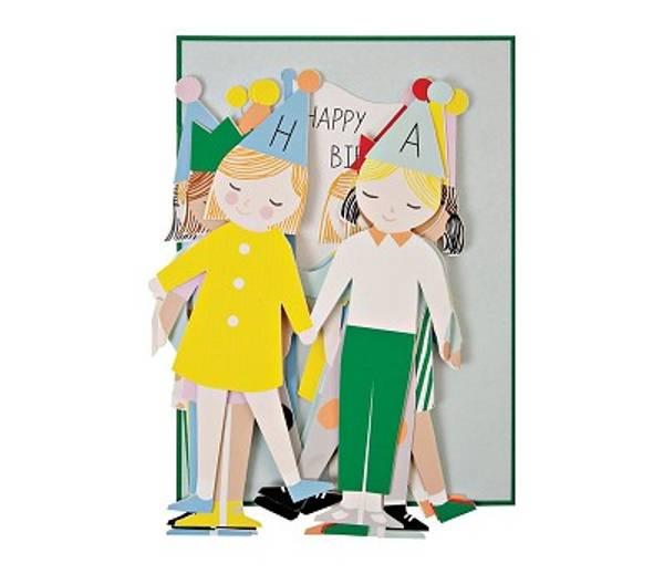Bilde av KORT - Bursdagsbarn - Meri Meri
