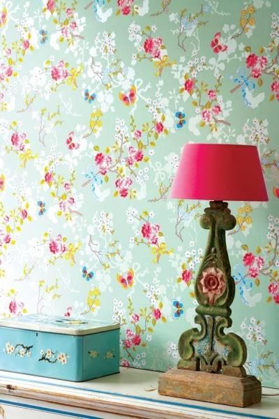 Bilde av TAPET - Chinese Rose - Mint - Pip Studio - Eijffinger