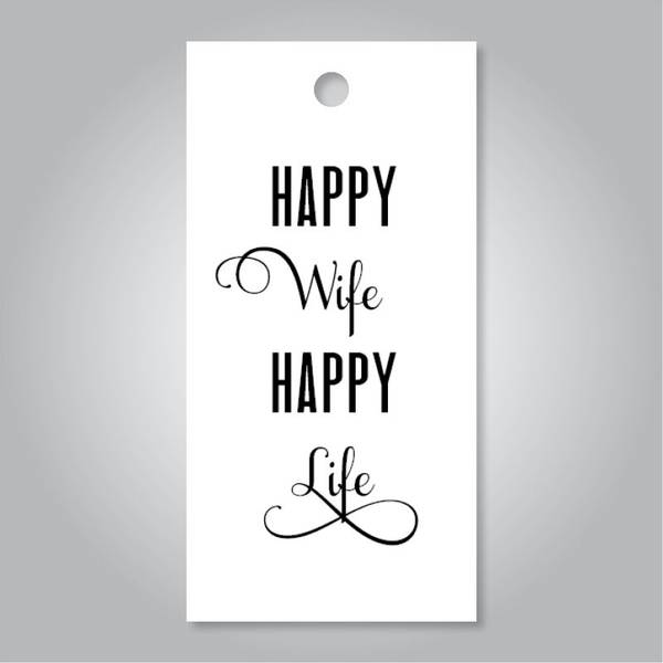 Bilde av TAGS - Happy Wife