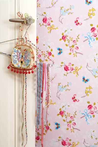 Bilde av TAPET - Chinese Rose - Rosa - Pip Studio - Eijffinger