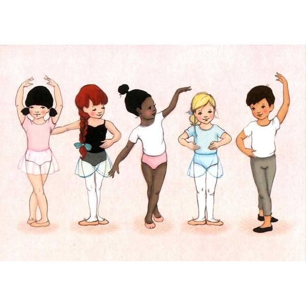 Bilde av KORT - Little Dancers - Belle & Bo