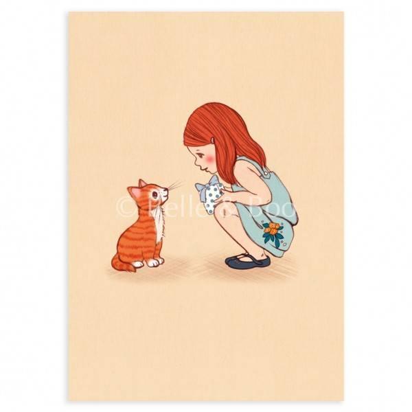 Bilde av KORT - Kitty - Belle & Bo