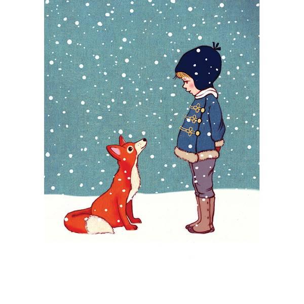 Bilde av KORT - Hello Mr Fox - Belle & Bo