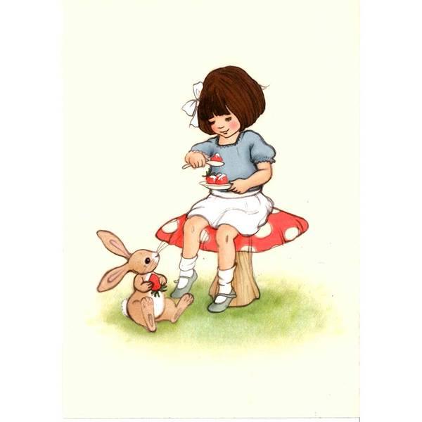 Bilde av KORT - Strawberries and Cream - Belle & Bo