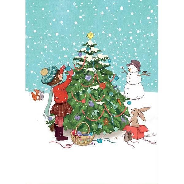 Bilde av KORT - Very Merry Christmas - Belle & Bo