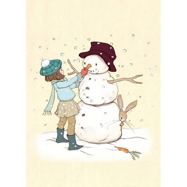 Bilde av KORT - Snowman - Belle & Bo
