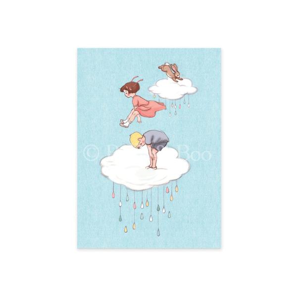 Bilde av KORT - Cloud Jumping - Belle & Bo