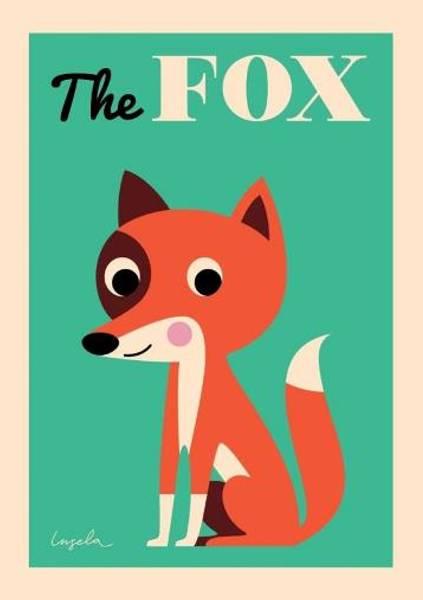 Bilde av POSTER - The Fox - Ingela P Arrhenius