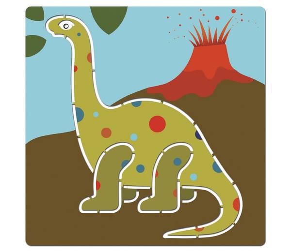 Bilde av SJABLONGER -  Dinosarer - Djeco