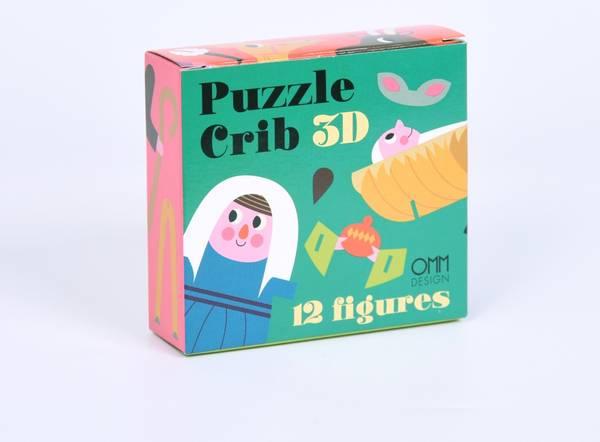 Bilde av 3D PUZZEL - Crib - Ingela Arrhenius