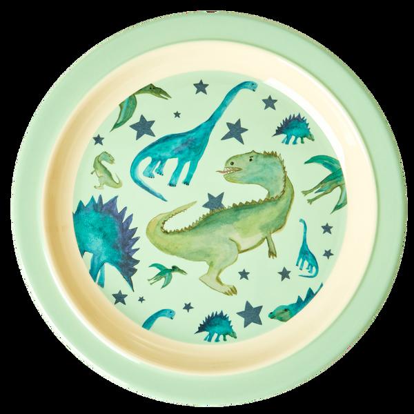 Bilde av ASJETT - Grønn - Dinosaur Print - Rice