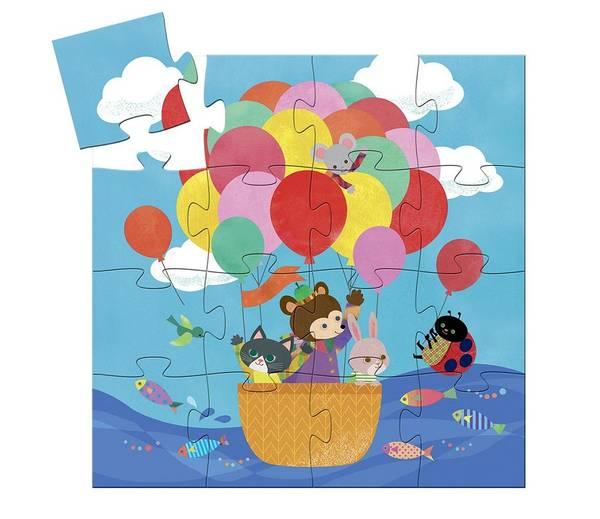 Bilde av PUSLESPILL - Luftballong - Djeco