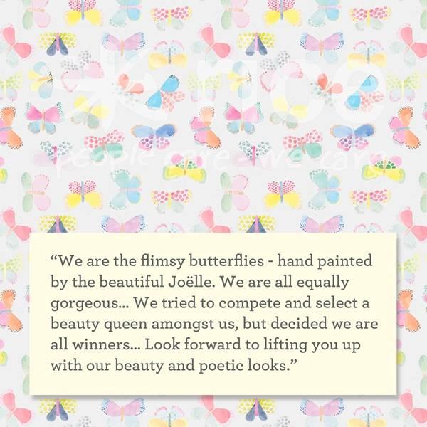 Bilde av BOLLE - Butterfly Print - Rice