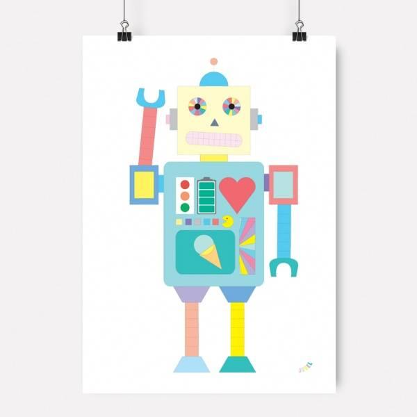 Bilde av PLAKAT - Robot - Jubel