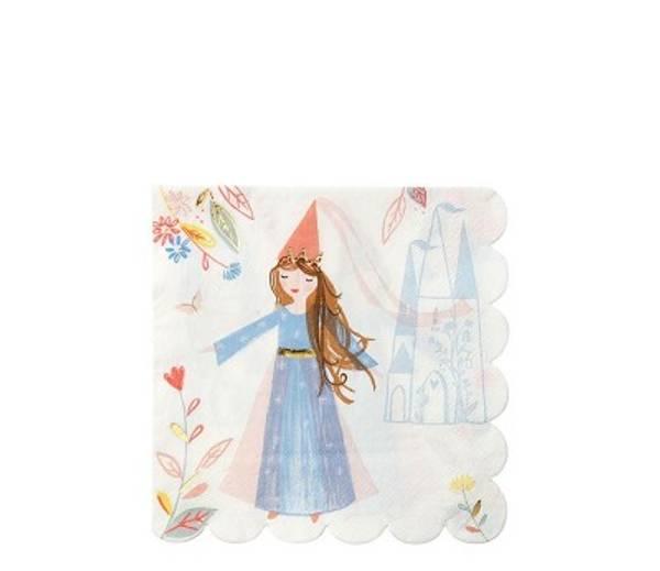 Bilde av SERVIETTER - Magisk Prinsesse - Meri Meri