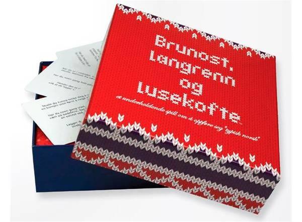Bilde av SPILL - Brunost, Langrenn Og Lusekofte