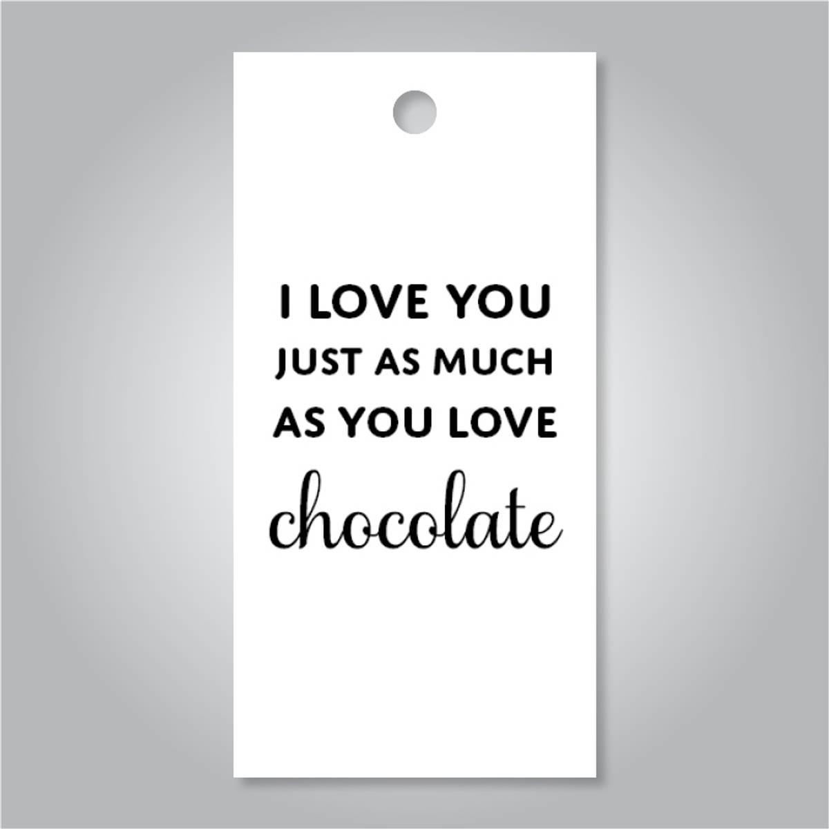 TAGS - I Love You Chocolate