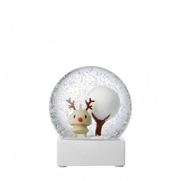 Bilde av HOPTIMIST STOR SNØKULE - Rudolph