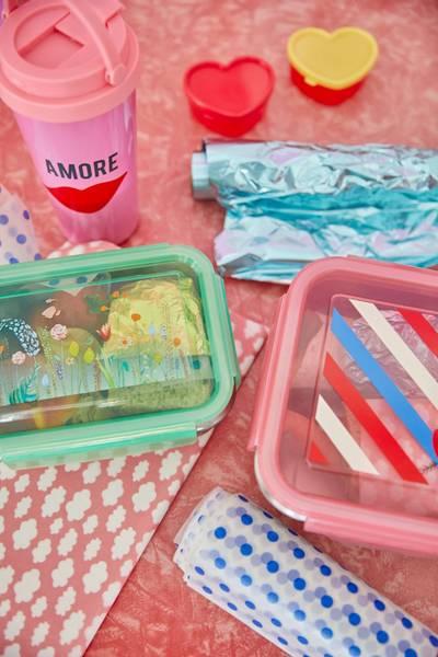 Bilde av STOR MATBOKS - Candy Stripes - Rice